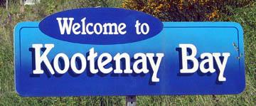 Welcome to Kootenay Bay