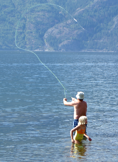 Kootenay Lake Fisherman