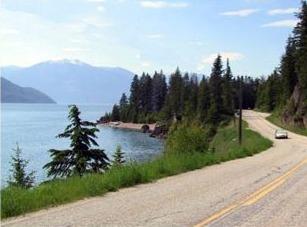 Lake View and Road